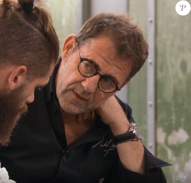 "Jordan et Michel Sarran dans ""Top Chef"" mercredi 11 mars 2020 sur M6."