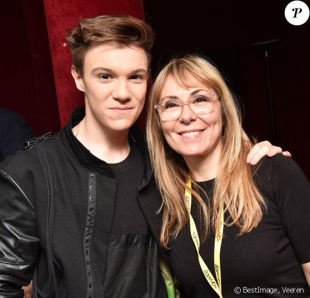 Exclusif - Lenni Kim et sa maman Myriam Landry - Lenni Kim en concert au Casino de Paris. Le 17 juin 2018 à Paris © Veeren / Bestimage