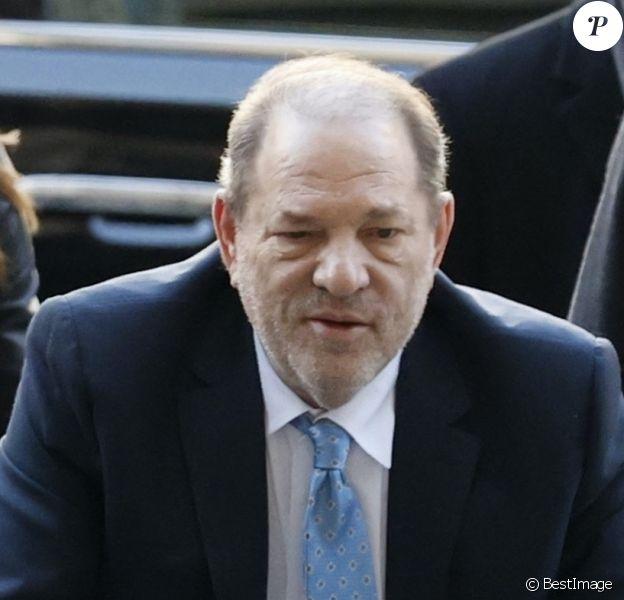 Harvey Weinstein, avec son avocate Donna Rotunno, le 24 février 2020 à la Cour suprême de l'État de New York pour son procès pour viol et agression sexuelle. Il a été reconnu coupable de deux des cinq chefs d'accusation qui pesaient sur lui.