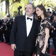 "Harvey Weinstein et sa femme Georgina Chapman - Montée des marches du film ""The Little Prince"" (Le Petit Prince) lors du 68 ème Festival International du Film de Cannes, à Cannes le 22 mai 2015."