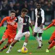 Paulo Dybala et Blaise Matuidi lors du match Juventus Turin - Udinese. Turin, le 15 janvier 2020.