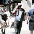 Kellan Lutz sur le tournage de Twilight, chapitre III : Hésitation à Vancouver le 18 août 2009