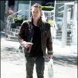 Jackson Rathbone sur le tournage de Twilight, chapitre III : Hésitation à Vancouver le 18 août 2009