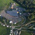 Concert anniversaire de Woodstock, quarante ans après, le 14 août 2009 à Bethel (Etat de New York, Etats-Unis)