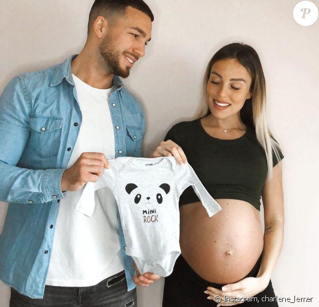 """Charlène de """"Secret Story"""", enceinte de son premier enfant, avec Benoit, sur Instagram, le 24 mars 2020"""