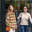 Exclusif - Teri Hatcher et sa fille Emerson Tenney se baladent dans les rues de New York, le 17 mai 2019.
