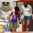 Michelle Obama en mini-short