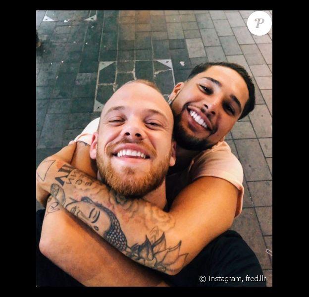 Eddy (Les Anges) pose avec son petit-ami, Fred, sur Instagram - 1er janvier 2020