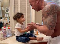 Dwayne Johnson : En confinement, il apprend les bons réflexes à sa fille Tiana