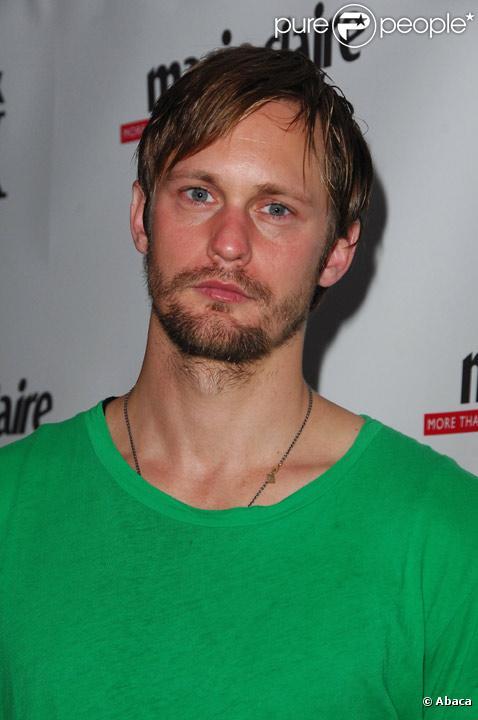 Alexander Skarsgard en septembre 2008