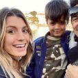 Jean-Pascal Lacoste, Delphine et Maverick, Instagram, le 26 janvier 2020