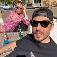 Petra Ecclestone et son fiancé Sam Palmer. Avril 2020.