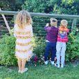 Les trois enfants de Petra Ecclestone et son ex-mari, James Stunt. Novembre 2019.