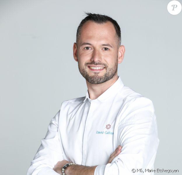 """David Gallienne, 30 ans, candidat de """"Top Chef 2020"""", photo officielle"""