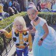 Jameson et Willow, les enfants de Pink et Carey Hart. Janvier 2020.