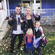 Pink, Carey Hart et leurs enfants Jameson et Willow. Novembre 2019.