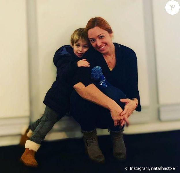 Natasha St-Pier et son fils Bixente sur Instagram en novembre 2019