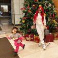 Blac Chyna et sa fille Dream. Décembre 2019.