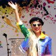 Lady Gaga - Personnalités lors de la Gay Pride à New York, le 28 Juin 2019