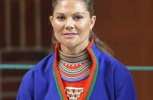 La princesse Victoria de Suède, en tenue folklorique... étonnante !