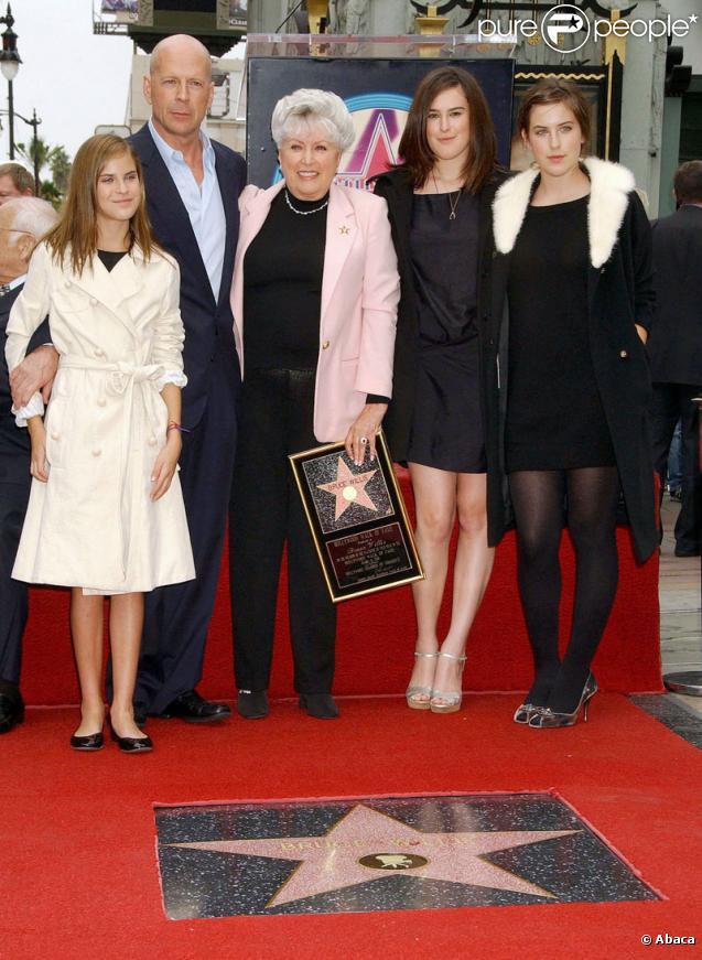 """Dans la famille Bruce Willis-Demi Moore, on ose les prénoms farfelus : Rumer Glen, Scout Larue et Tallulah Belle sont en 3ème position !            <meta name=""""GENERATOR"""