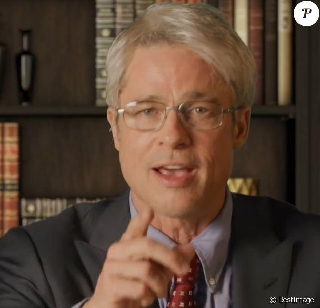 """Dans l'émission """"Saturday Night Live"""", Brad Pitt interprète le Dr. Anthony Fauci. Le 25 avril 2020."""