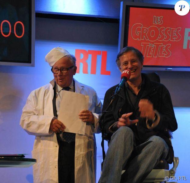 Philippe Bouvard et Francis Huster dans l'interview du Fauteuil du dentiste !