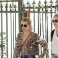 Exclusif - Kristen Stewart et Emma Roberts sont allées rendre visite à une amie qui déménage dans le quartier de Los Feliz à Los Angeles, le 3 mars 2020