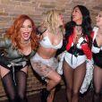 Nicole Scherzinger, Ashley Roberts, Jessica Sutta, Carmit Bachar, Kimberly Wyatt - Les Pussycat Dolls jouent au GAY à Londres 14 ans après leur premier concert live dans ce lieu. Londres le 22 Février