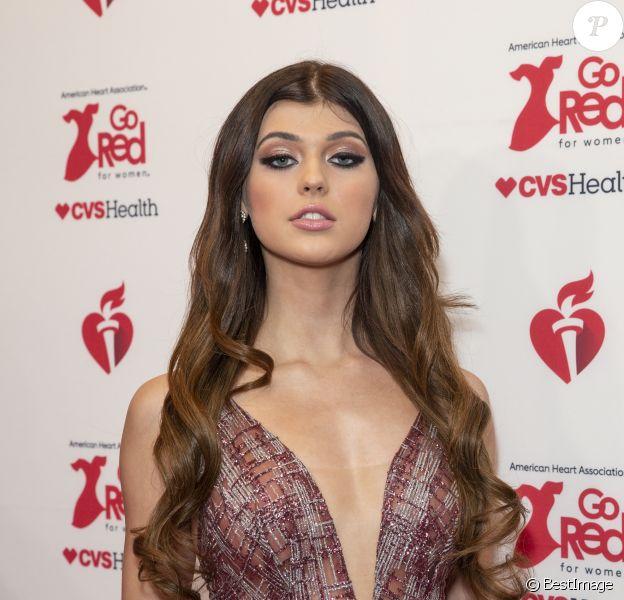 """Loren Gray - Les célébrités assistent à la soirée caritative """"Go Red For Women"""", organisée par """"The American Heart Association"""", à New York, le 5 février 2020."""
