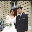 Mariage de Zinédine et Véronique Zidane à Bordeaus le 29 mai 1994.