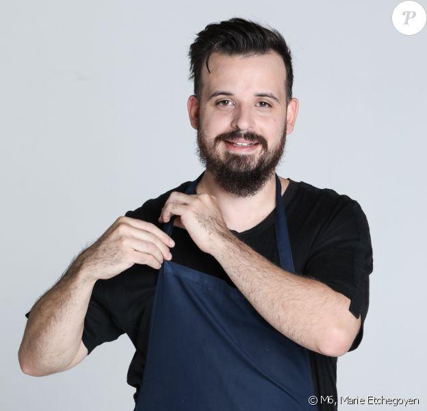 """Adrien Cachot, 29 ans, candidat de """"Top Chef 2020, photo officielle"""