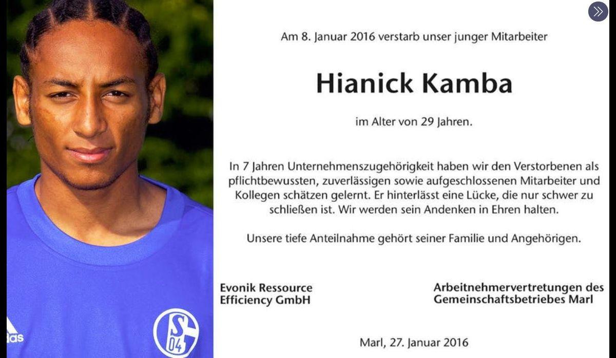 Hiannick Kamba déclaré mort il y a quatre ans... et retrouvé vivant -  Purepeople