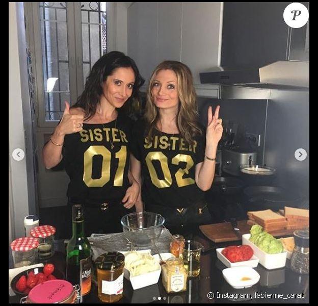 """Fabienne Carat avec sa soeur Carole ont participé à l'émission """"Tous en cuisine"""" de Cyril Lignac le 30 avril 2020."""