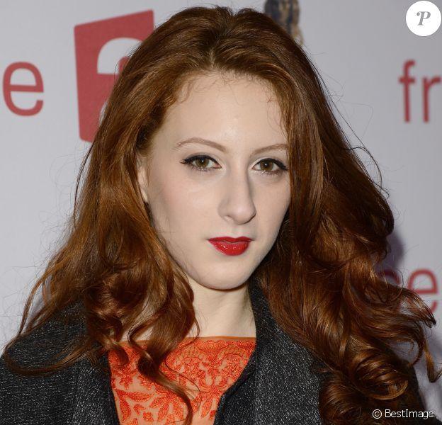 Roxane Duran - Soirée de la 27e Nuit des Molières au Théâtre des Folies Bergère à Paris, le 27 avril 2015.