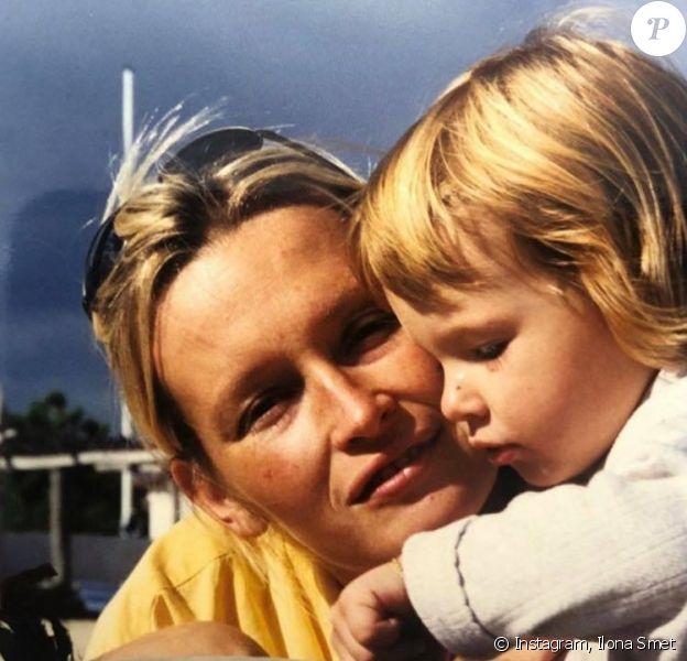 Ilona Smet partage de jolies photos de famille pour l'anniversaire d'Estelle Lefébure. Le 11 mai 2020.