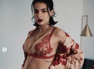 Jade Leboeuf enceinte : elle pose en lingerie et dévoile son ventre rond