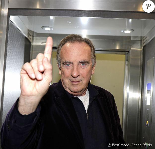 Exclusif - Rendez-vous avec Yves Lecoq à Paris le 14 février 2020. © Cédric Perrin/Bestimage