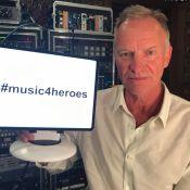 Sting : Le chanteur rejoint Joey Starr et Cécile Cassel sur Music4Heroes