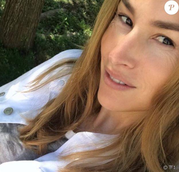 Vanessa Demouy sur Instagram. Le 29 avril 2020.