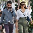 Eva Longoria et son mari Jose Baston font du shopping à Los Angeles le 8 novembre 2019