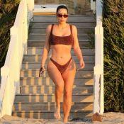 """Kim Kardashian musclée, elle dévoile son """"sport de quarantaine"""""""
