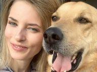 Aleksandra Prykowska : Le top, mordu par son chien, a failli perdre un oeil