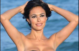 La superbe Maria Grazia Cucinotta fait son show à Venise... et on ne peut qu'être sous le charme !