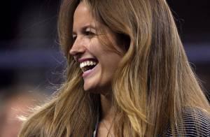 Quand Andy Murray se vautre dans les affaires de son adversaire... ça fait bien rire sa petite amie, Kim Sears !