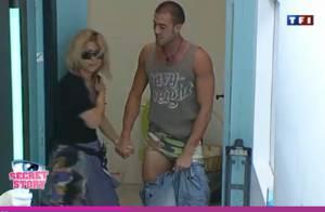 Secret Story 3 : Jonathan et Cindy sont obligés d'être très proches... mais Cindy ne le supporte plus ! Regardez !