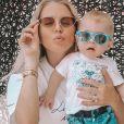 Jessica Thivenin et son fils Maylone, le 29 mai 2020, sur Instagram