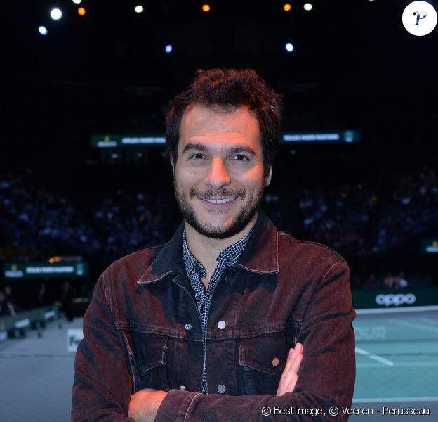 Amir Haddad lors de la finale du tournoi Rolex Paris Masters 2019 à Paris le 3 novembre 2019. © Veeren - Perusseau / Bestimage