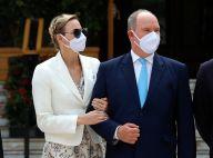 Albert et Charlene de Monaco : Grande sortie masquée avec Stéphanie