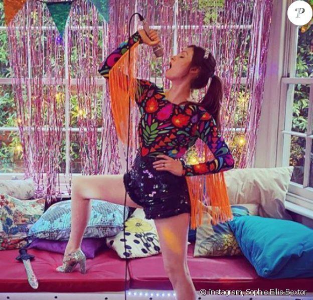 Sophie Ellis-Bextor. Mai 2020.